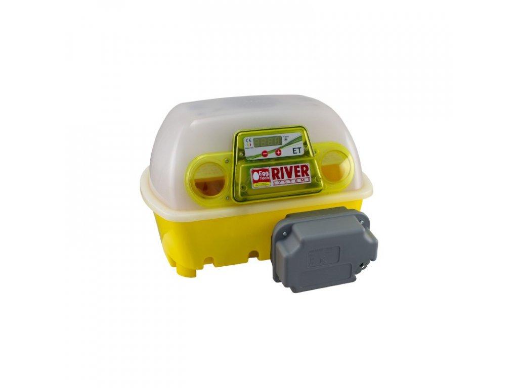 Líheň kuřat ET12 (EGG TECH) digitální automatická z antibakteriálního materiálu Biomaster, s dolíhní