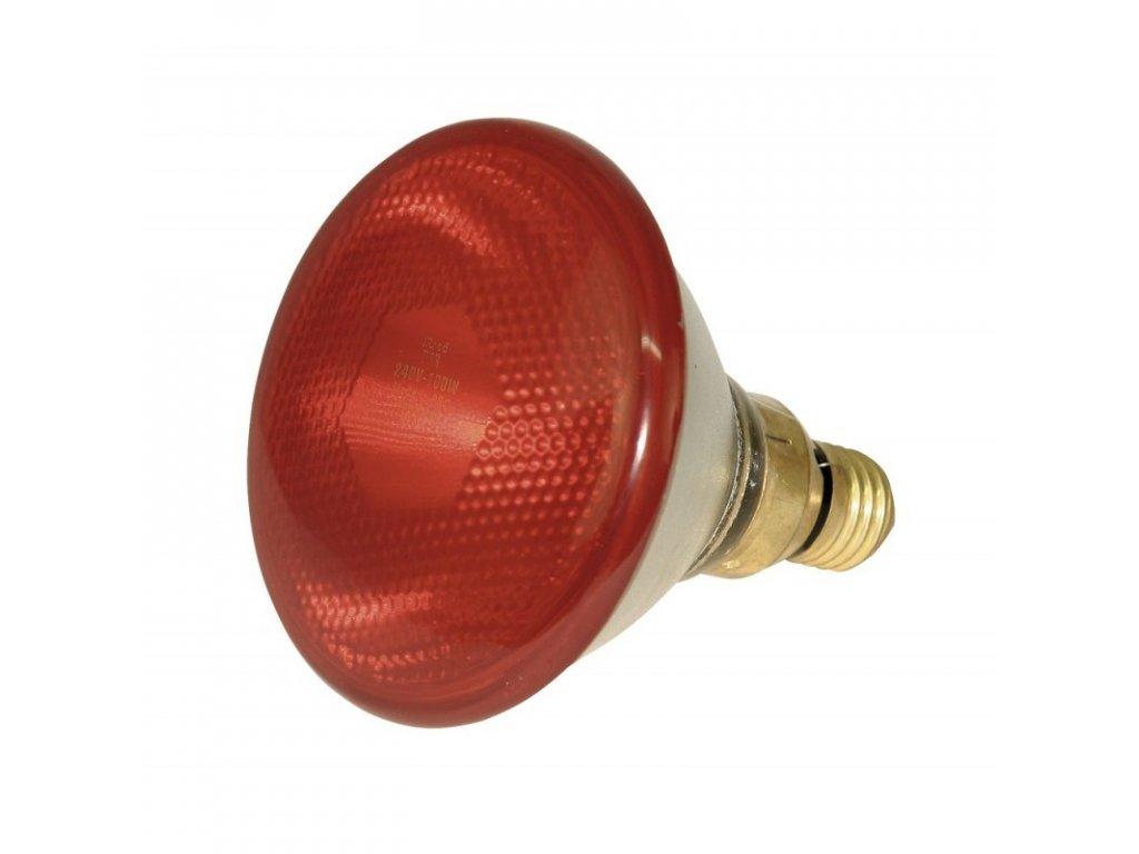 Infražárovka Kerbl úsporná PAR38, červená, 100 W