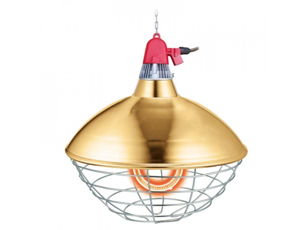 Interheat karbonová lampa pro selata CPBT300S, prům. 40 cm, s úsporným režimem