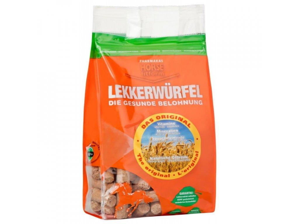Pamlsek pro koně HORSE® fitform s hroznovým cukrem, 1 kg