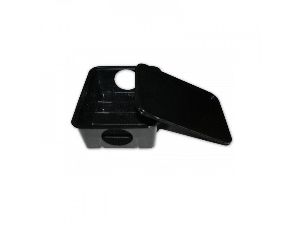 Box deratizační plastový na myši a potkany, 19 x 14,5 cm