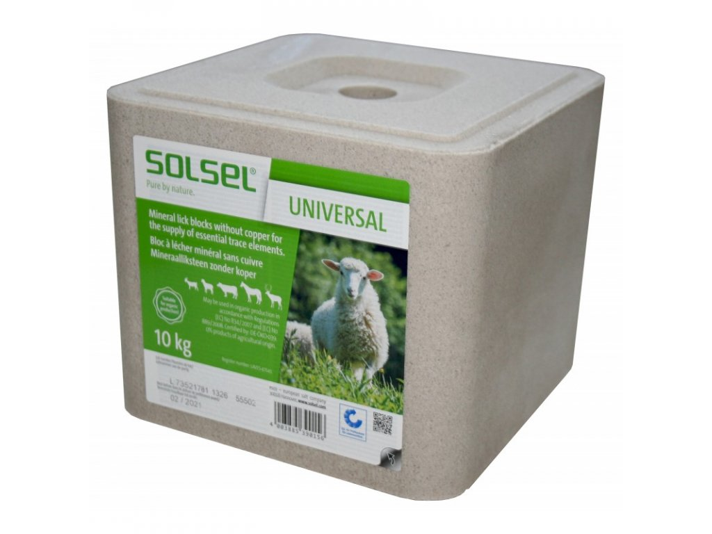 Liz solný minerální pro ovce a kozy, 10kg