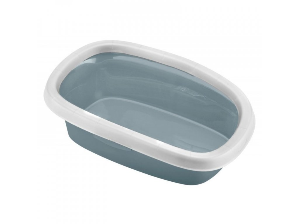 Toaleta pro kočky Sprint 20 - kočičí W, 58x39x18cm, modrá