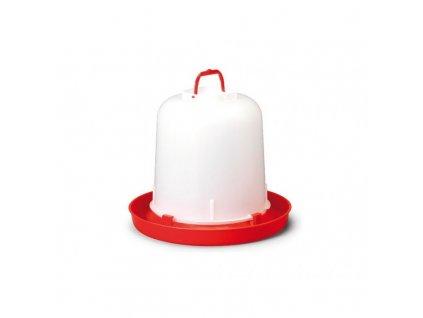 Napáječka pro drůbež plastová klobouková, bajonet, River, 10 l