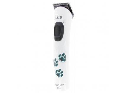 Strojek stříhací na psy Aesculap Isis, Aku