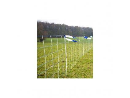 Síť pro elektrické ohradníky proti vlkům WolfNet Vario TITAN, 2 hroty, 108 cm, modrá