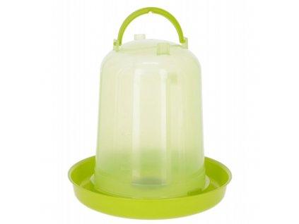 Napáječka pro drůbež klobouková s bajonetem, zelená, 8 l