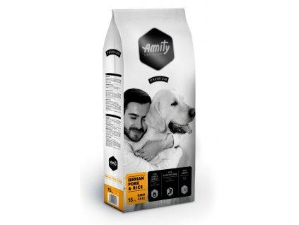 AMITY premium dog IBERIAN Pork & Rice 15kg   Tenesco.cz