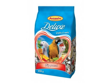 2055 avicentra velky papousek deluxe 15kg