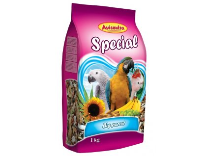 3138 avicentra velky papousek special 15kg