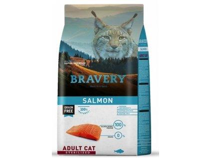 5721 bravery cat sterilized grain free salmon 7kg
