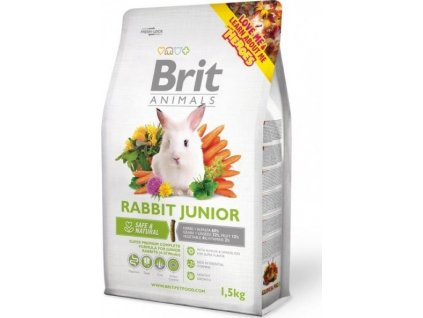 2730 brit animals rabbit junior complete 1 5kg
