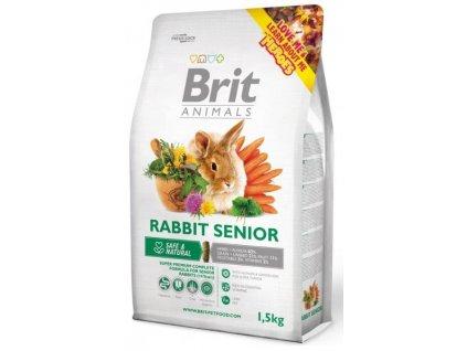 2745 brit animals rabbit senior complete 1 5kg