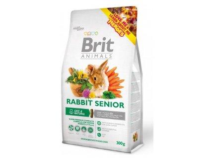 2763 brit animals rabbit senior complete 300g
