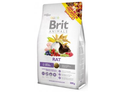 3828 brit animals rat complete 300g