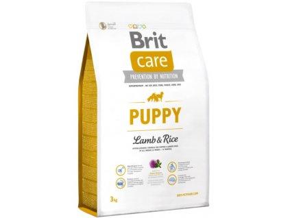 3498 brit care puppy lamb rice 3kg