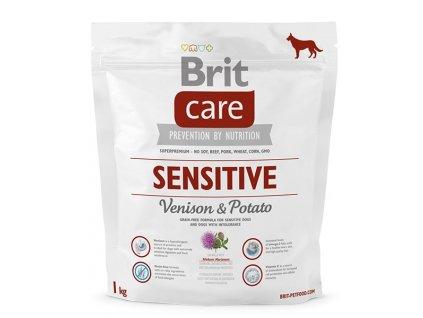 3636 brit care sensitive venison potato 1kg