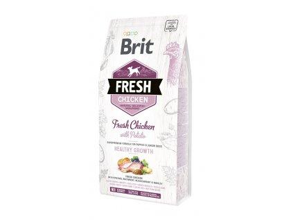 6909 brit fresh chicken potato puppy healthy growth 2 5kg