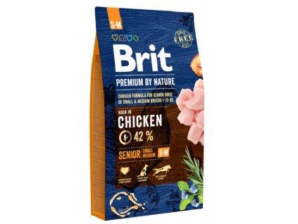 5355 brit premium by nature senior s m 8kg