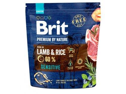 5319 brit premium by nature sensitive lamb 1kg