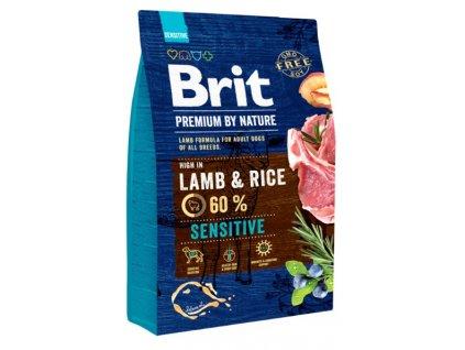 5382 brit premium by nature sensitive lamb 3kg
