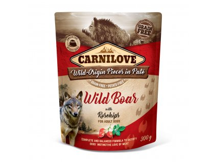 carnilove wild boar rosechips