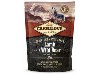 Carnilove Lamb & Wild Boar for adult 1,5kg   Tenesco.cz