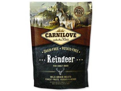 Carnilove Reindeer for adult 1,5kg | Tenesco.cz