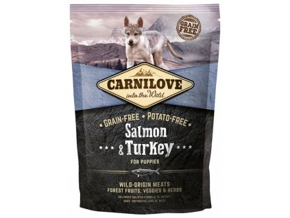 Carnilove Salmon & Turkey for puppies 1,5kg   Tenesco.cz