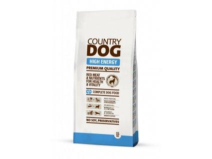 COUNTRY DOG High Energy 15kg   Tenesco.cz