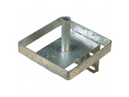 Držák na liz, kovový, 20,5 x 20,5 cm