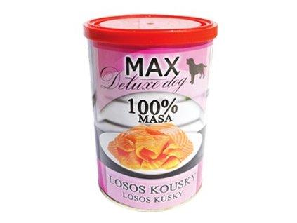 5547 max deluxe losos kousky 400g