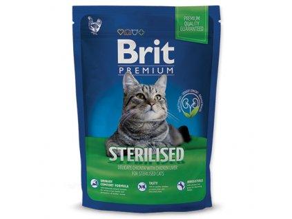 3927 new brit premium cat adult sterilised 800g