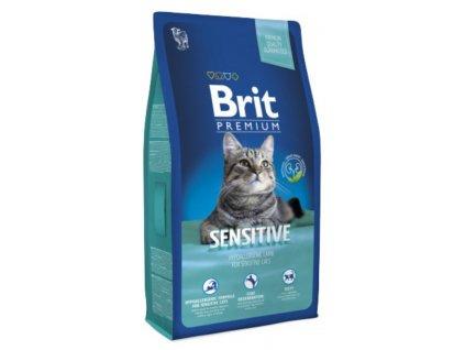 3852 new brit premium cat sensitive 8kg