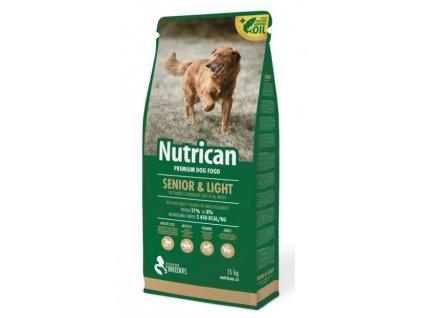6792 nutrican senior light 15kg