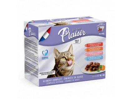 6876 plaisir cat kapsicky multipack 12x100g