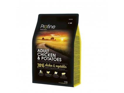 NEW Profine Adult Chicken & Potatoes 3kg   Tenesco