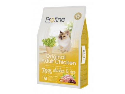 4380 profine cat original adult chicken 10kg