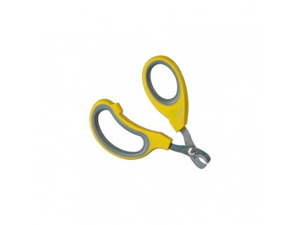 Nůžky na drápky pro králíky, žluté