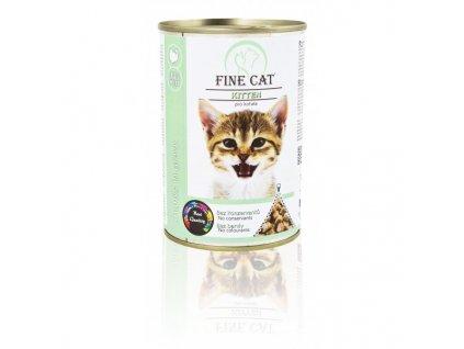 Fine Cat konzerva Kitten pro koťata