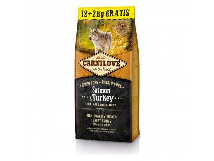 carnilove salmon turkey 12 2