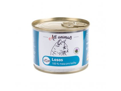 11094 all animals cat losos mlety 200g