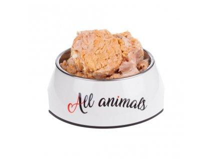 All Animals DOG losos kousky 200g