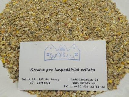 Nosnice Klasik šrot - kompletní krmná směs pro nosnice (Obsah Balení 25 Kg)