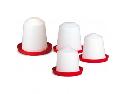 Napáječka pro kuřata plastová klobouková, 5 L