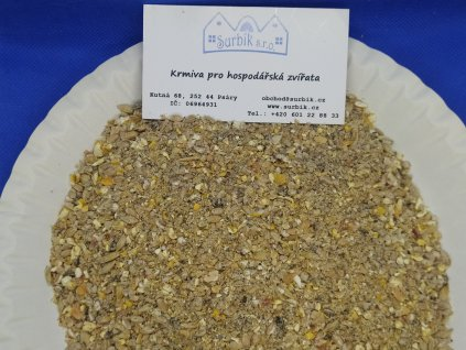 Nosnice Klasik šrot - kompletní krmná směs pro nosnice