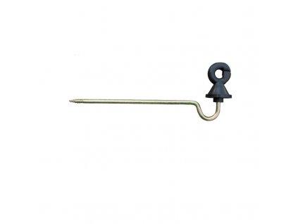 Izolátor kruhový distanční pro elektrický ohradník, s vrutem, 15 cm