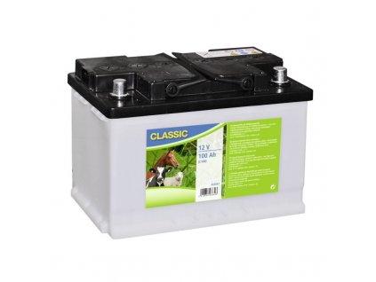 Baterie dobíjecí 12V pro ohradníkový zdroj, pomalu se vybíjející, 12 V / 100 Ah