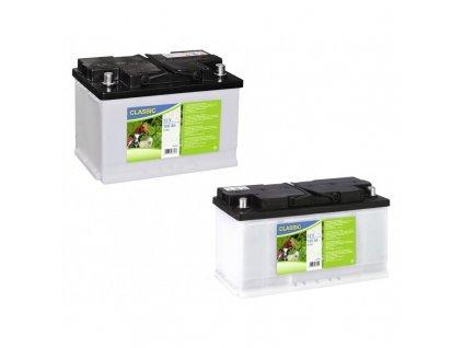 Baterie dobíjecí 12V pro ohradníkový zdroj, pomalu se vybíjející, 12V / 80 Ah