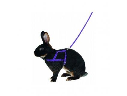 KERBL Postroj a vodítko pro králíka pro agility, 200 cm, L